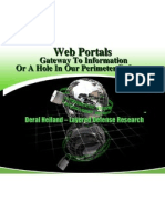 Web Portals, Gateway to Information