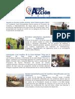 Boletín Mayo 2012 Ayuda en Acción