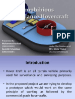 Amphibious Surveillance Hovercraft,Major Project,Final Year,Btech-EC,2011-12