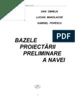 Proiectarea Preliminara a Navei - D.obreja, he G.popescu