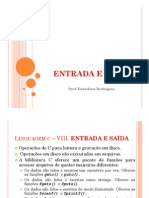 Aula4 - Linguagem C (Entrada e Saida)