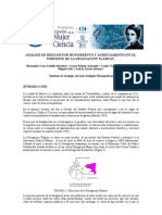 4.1 Análisis de riesgos por hundimiento y agrietamiento en el noroeste de la delegación Tláhuac