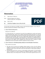 DPW Responds to Petition on North Street Reconstruction 05-24-2012