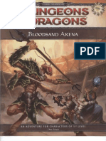 D&D 4th Edition - (L1) Bloodsand Arena