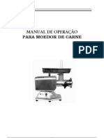 Manual Moedores Carne
