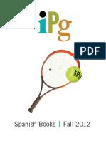2012 Fall IPG Spanish Books