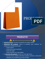 Curso de Marketing Internacional - M.mix Producto