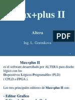Max Plus II