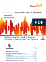 ITMCCS-2943 - IPv6 Rapid Deployment (6rd) at Swisscom (2011 London) - 45 Mins