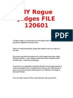 My Rogue Judges File 120601