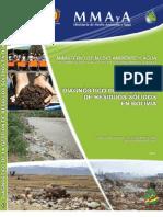 Diagnóstico de la Gestión de Residuos Sólidos en Bolivia-2011