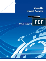 Kinect Web Client Protocol 001