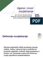 p2 Agensi i Izvori Socijalizacije