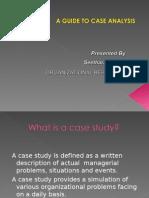Analysing a Case Study
