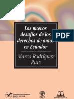 SM78-Rodríguez-Los nuevos desafíos de los derechos de autor en el Ecuador