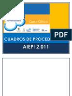Cuadros de Procedimiento Final 2012