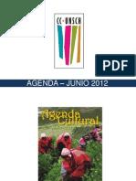 AGENDA – JUNIO 2012