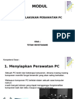 Power Point Perawatan Pc