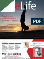 June-Volume 3 Wellness One Newsletter