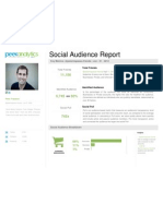 Peek Analytics Social Audience Report of Friends for Peter Trapasso June 01 2012 (@Petertrapasso)