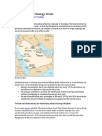 Saudi Arabia's Energy Crisis by Robert W. Lebling