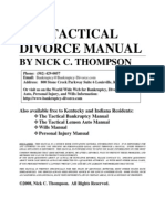 The Tactical Divorce Manual