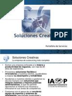 Presentacion Servicios Soluciones Creativas