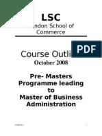 LSC MFP - October2008
