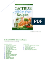 103 TRUE Gluten Free Recipes