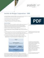 Gestión de Riesgos Corporativos - ERM