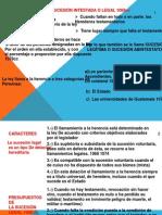 12.- LA SUCESIÓN INTESTADA O LEGAL
