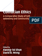 Confucian Ethics Comparative Study