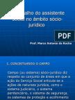 O Trabalho Do Assistente Social No Ambito Sociojuridico