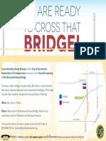 Norwood Avenue Bridge Grand Re-Opening Invite