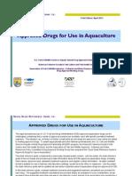 Sustancias Aprobadas Para Acuicultura Por USA