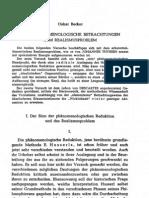 Becker-Realismusproblem