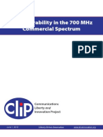 CEI CLIP - FCC Comments on 700 MHz Interoperability