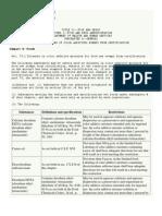Code of Federal Regulations 21 Food