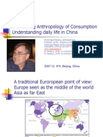 Beijing Introducing Anthropology of Consumption