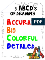 The ABCDs of Drawing
