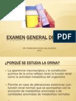 Examen General de Orina 2012