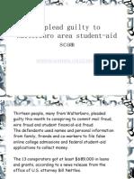 13 Plead Guily to Walterboro