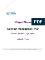 Contract Management Plan (4156v2)