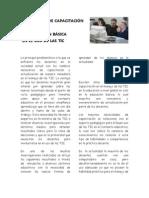 NECESIDADES DE CAPACITACIÓN DE DOCENTES