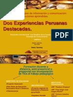 Tecnologias ion Comunicacion Dos Experiencias Peruanas