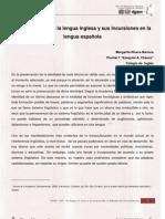 No 03 Art 10 Singular Ida Des de La Lengua Inglesa y Sus Incursiones en La Lengua Espa%C3%B1ola
