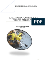 ANALISANDO QUESITOS NA PERÍCIA AMBIENTAL