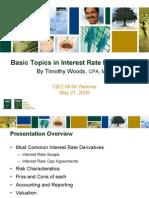 CBIZ MHM Presentation - Interest Rate Derivatives