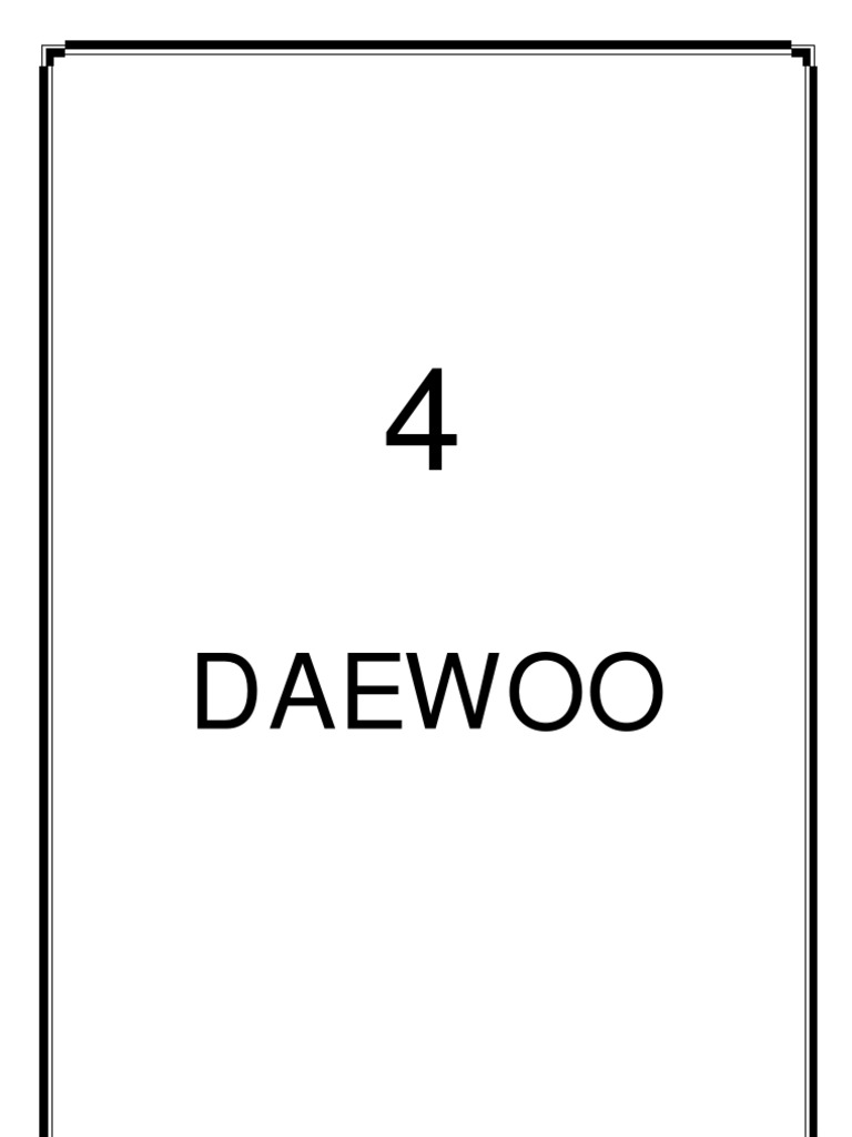 Daewoo Cielo Workshop Manual English Wiring Library Automatic Transmission Diagram Free Download Electrical Connector Engineering