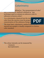 colourimetricanalyisi